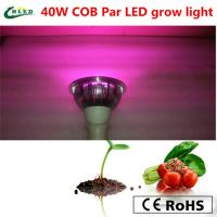 Wholesale 40w cob full spectrum 380-840nm led plant grow lights reflector cup  Par from china suppliers