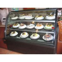 Wholesale Luxury Free Standing Single Arc Cake Glass Fronted Display Cabinets from china suppliers