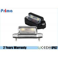 China 90 Degree Led Trailer Light , 5050 SMD Universal LED License Plate Light on sale