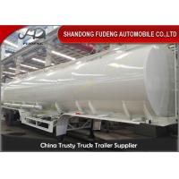 Quality 4 compartments fuel tanker semi truck trailer can be customized for sale