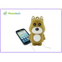 Wholesale Mini Cute Rechargeable Powerbank Stylish Bear Shape For Mobile Phone from china suppliers