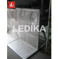 Quality Explosion Proof Fence 6082 T6 Folding Crowd Control Stands Customized Color for sale