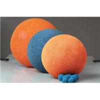 Wholesale 2 Inch - 8 Inch Concrete Pump Cleaning Ball With Natural Rubber / Sponge Material from china suppliers