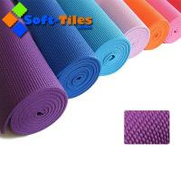 Quality Cheap PVC yoga mat 173*61CM 6mm thickness Quality assured for sale
