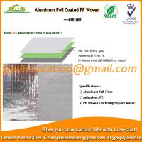 Wholesale Aluminum Foil Coated PP Woven as roof reflective insulation from china suppliers