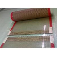 Wholesale Weather Resistant PTFE Fabric , 0.5×1mm PTFE Mesh Belt Premium Grade from china suppliers
