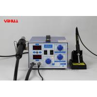 Wholesale 2 IN 1 Mobile Phone Rework Station With Hot Air Gun and Soldering Iron from china suppliers