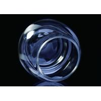 Quality Round Ball Shape Crystal Transparent Glass Cup Moth Blown For Candle Making for sale