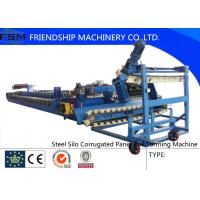 Wholesale PLC Control 18 Stations Steel Corrugated Roll Forming Machine For Silo from china suppliers
