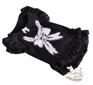 Quality Pretty dog skirt, fashion dog shirt, 3 colors for choice for sale