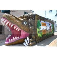 Wholesale Dinosaur House 5D Movie Theater 12 Seat Simulator Chairs With JBL Sound System from china suppliers