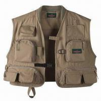 Wholesale Polyester Fishing Vest, Suitable for Fishing and Outdoor Activities, OEM Orders are Accepted from china suppliers