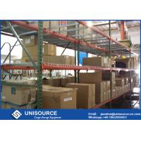 Wholesale Storage Teardrop Industrial Rack Shelving , Steel Pallet Racks For All Metal Pallet from china suppliers