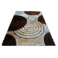 Wholesale Fixed 150D Soft Silky 3D Polyester Shaggy Rug, Luster Shaggy Rugs For Dining Room from china suppliers