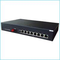 Wholesale 8 1000Bae TX POE port+1000Base Fx Gigabit POE Switch from china suppliers