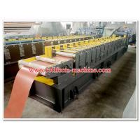 Wholesale Corrugated Metal Roof Ridge Cap Sheets Roll Forming Line with No. 45 High Quality Steel Rolling System from china suppliers