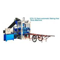 Wholesale Gear Driving And 360-degree Rotation QT4-15 Cement Brick Machine from china suppliers