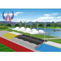 Quality Hight Tensile Fabric Structure Buildings , Outdoor Permanent Canopy Structures UV Resistant for sale