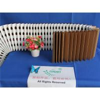 Wholesale 5mm Pleated Filter Paper Low Resistance , High Efficiency Pre Folded Paper from china suppliers