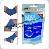 Wholesale Cool Medical Bandage Elastic Compression Wrap Instant Pain Relief Therapy from china suppliers