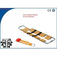 China Aluminum Folding Scoop Stretcher Hospital Patient Transfer Stretcher on sale