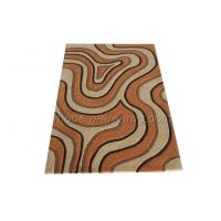 Wholesale Abstract Acrylic Area Rugs, Light Orange Bedroom Area Rug Mordern Design from china suppliers
