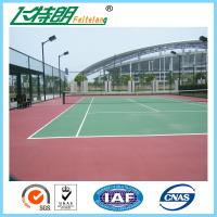 Wholesale SGS Athletic Gymnasium Flooring Outdoor Play Surfaces Non Toxic Water Solubility from china suppliers