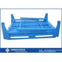Wholesale Unisource Industrial Foldable Metal Box 500 Kg - 2000 Kg Load With Flexible Wheels from china suppliers