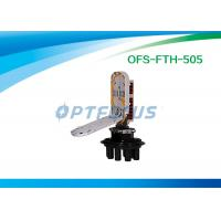 Wholesale 96 cores PC FTTH PLC Splice Closure 7 Port Shrinkable Seal Waterproof from china suppliers