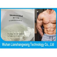 Wholesale Muscle Gaining male sex hormones Winstrol CAS 10418-03-8 Stanozolol from china suppliers