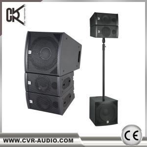 Wholesale Concert Speakers  Empty Line Array 6.5  Inch Dj Speaker Jbl Speakers Wooden Speaker from china suppliers