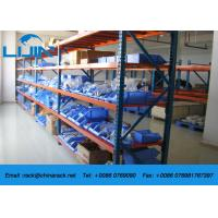 Wholesale 4 Levels Warehouse Shelving Systems , Medium Duty Warehousing Racking System from china suppliers