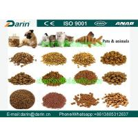 Quality Fish Feed , Pet Food Extruder Machine CE certificate Automatic Animal food extrusion equipment for sale