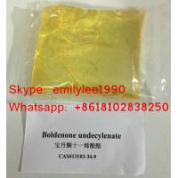 Wholesale Anabolic Androgenic Steroids Boldenone Undecylenate (Equipoise) liquid increase muscle mass from china suppliers