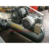 Wholesale Electric Belt Driven Piston Air Compressor / Portable Piston Air Compressor for Industrial from china suppliers