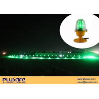 Wholesale Upright Mounted Helipad Lights Fresnel Lens 30cd Green LED AC110V for Heliport from china suppliers