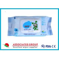 Wholesale Ultra Packing Baby Wet Wipes Pearl Dot Spunlace Uncontinuorsly Extrating 90PCS from china suppliers