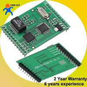 Quality [USR-TCP232-D] DIP version TTL to RJ45 TCP/IP server ethernet module for sale