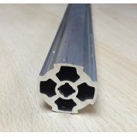Wholesale Strengthening Aluminium Alloy Pipe OD28mm thickness 1.2mm  blossom shape from china suppliers