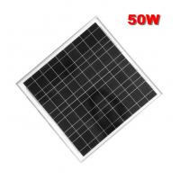 Wholesale 50W mono cheap price per watt solar panels in china with high quality from china suppliers