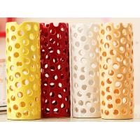Wholesale high temperature coloured glaze Hollow receptacle from china suppliers
