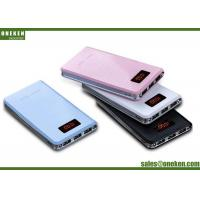 Quality 8000mAh  Dual USB Lithium Polymer Battery Power Bank With Custom LOGO Printing for sale