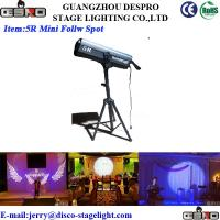 Wholesale Long Distance LED Follow Spot RGBW Gobo Lighting Effects For Concert from china suppliers
