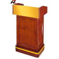 Wholesale Ash Veneer Lectern Podium from china suppliers