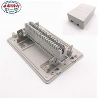 Buy cheap Network Indoor Distribution Box 10/20/30 Pair Telephone Module Surface Mounting insert Type from wholesalers