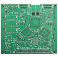 Wholesale FR4 Double sided PCB board HASL Finish , 0.3mm Min. Line RoHS Certification from china suppliers