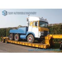 Wholesale 11 m Extendable Low Bed Trailer 2 Axles Gooseneck Detachable Lowbed Semi Trailer from china suppliers