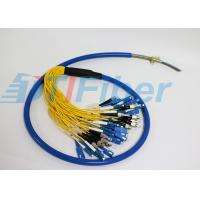 Wholesale ST LC FC SC Armour Fiber Optic Pigtail Multimode For Fiber Patch Panel And Fiber Adapter from china suppliers