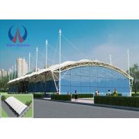Wholesale Spacious Light Weather Proof Tensile Membrane Roof Shelters High Translucency from china suppliers