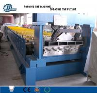 Wholesale Metal Deck Flooring Systems Floor Deck Roll Forming Machine 5.5 Kw from china suppliers